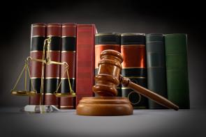 Law Books and Symbols